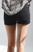 Bullhead Denim Co Low Rise Single Roll Shorts