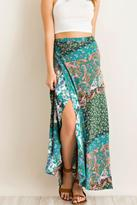 Entro Paisley Wrap Dress
