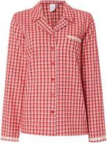 Calvin Klein Transformation check pyjama top