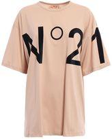 N°21 N.21 No21 Logo Print T-shirt