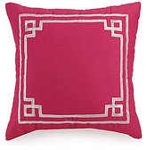 Jessica Simpson Watercolor Garden Framed Square Pillow