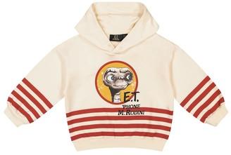 Mini Rodini x Universal printed cotton hoodie
