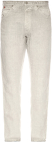 120% Lino 120 LINO Five-pocket straight-leg linen trousers
