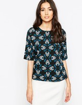 Sugarhill Boutique Louise Tapestry Feather Top