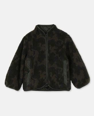 Stella Mccartney Kids Stella McCartney ripstop & teddy jacket