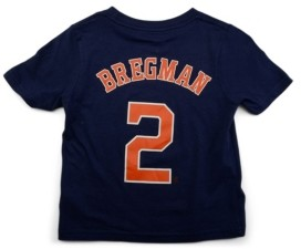 Nike Houston Astros Alex Bregman Toddler Name and Number Player T-Shirt