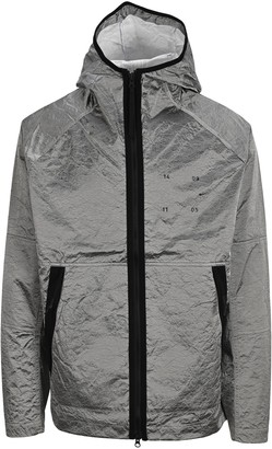 Nike Metallic Effect Hooded Jacket