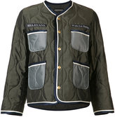 Undercover quilted embroidered bomber jacket - women - Silk/Nylon - 1