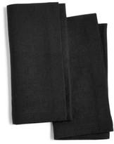 Hotel Collection Modern Black 2-Pc. Linen Napkin Set