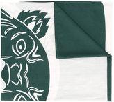 Kenzo Tiger scarf - unisex - Silk/Cotton/Modal - One Size
