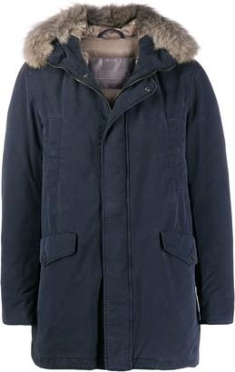 Herno Fur-Collar Parka Coat