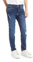 Gap High stretch destructed skinny jeans