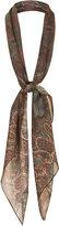 Kate Moss for topshop **paisley print chiffon scarf