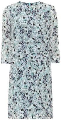 Erdem Emma floral silk crepe de chine dress