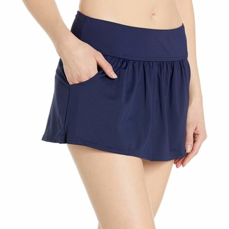 Anne Cole Women's Skirted Swim Bottom with Pockets