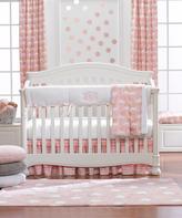 Pink Unicorn Four-Piece Crib Bedding Set