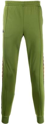 Kappa logo band track trousers