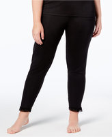 Cuddl Duds Softwear Lace Plus Leggings