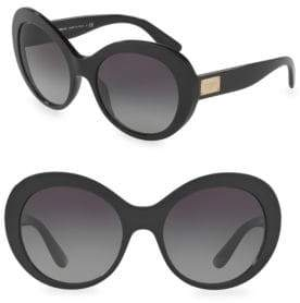 Dolce & Gabbana 56MM Oversized Sunglasses