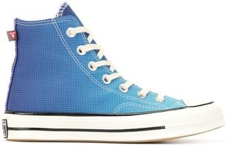 Converse Grid Gradient Hi-Top Sneakers