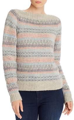 Rebecca Taylor Boat Neck Fair Isle Sweater - 100% Exclusive