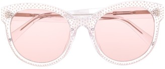 Philipp Plein Tinted Cat Eye Sunglasses