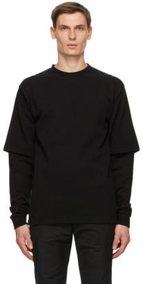 GR10K Black 8oz Double Utility BM Long Sleeve T-Shirt