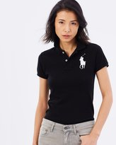Polo Ralph Lauren Skinny-Fit Big Pony Polo Shirt