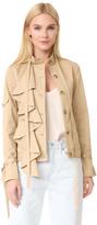 Robert Rodriguez Ruffle Jacket