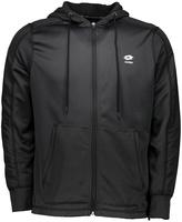 Lotto Charcoal FZ Textured Fleece Hooded Jacket - Men's Regular
