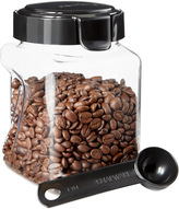 Container Store 35.1 oz. Square Coffee Saver 4.4 c.