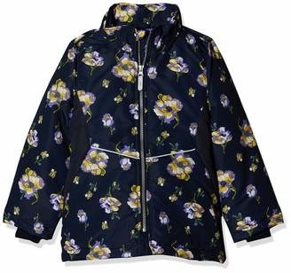 Name It Girl's Nkfmaxi Jacket Flower