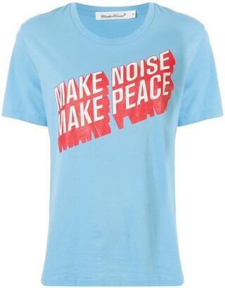 Undercover slogan print T-shirt