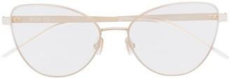 HUGO BOSS Cat-Eye Full-Rimmed Eyeglasses