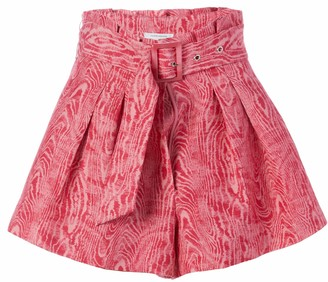 C/Meo Women's Flared Early On Short with a Belt and Pleated Waist