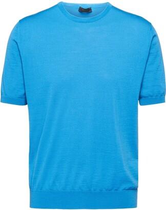Prada Shortsleeved Knitted Top