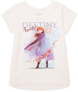 Disney Little Girl's Graphic High-Low Tee