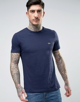Lacoste Small Logo T-Shirt Regular Fit in Navy