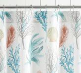 Pottery Barn Del Mar Shower Curtain