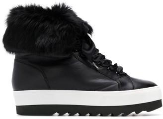 Högl lace-up platform boots