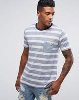 Brave Soul Retro Stripe T-shirt