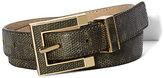 Vince Camuto Golden Buckle Belt