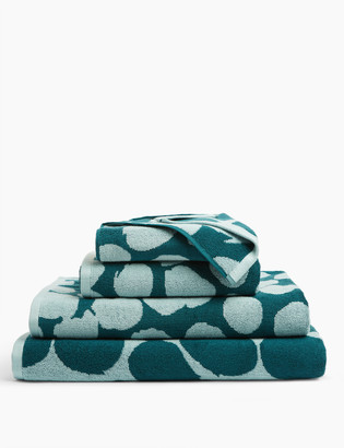 Marks and Spencer Pure Cotton Painted Spotty Towel