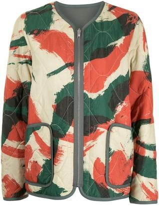 Kenzo Brushed Camo reversible jacket