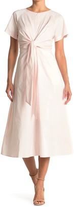 HUGO BOSS Kilara Front Tie Dress
