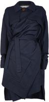 Vivienne Westwood Builder Coat Navy Size S