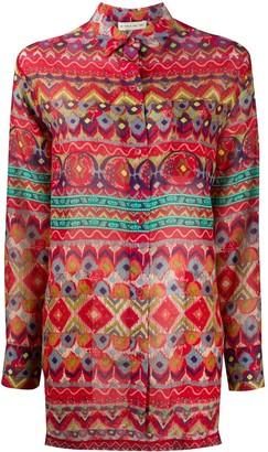 Etro Geometric Stripe Shirt