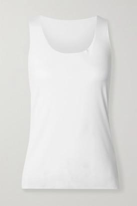 Wolford Net Sustain Aurora Pure Stretch-modal Jersey Tank - White