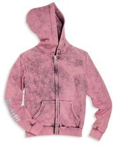 Butter Shoes Girl's Snow Wash Hoodie