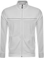 BOSS GREEN HUGO Skaz Full Zip Sweatshirt White